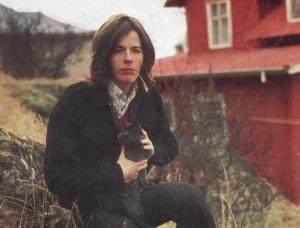 Björgvin Halldórsson á forsíðu Vikunnar 1969