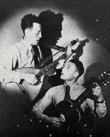 Ólafur Beinteinsson og Sveinbjörn Þorsteinsson