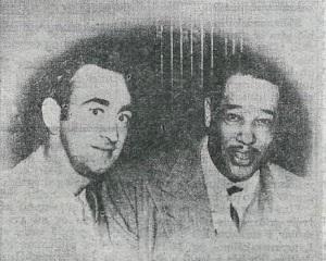 Einar Markússon og Duke Ellington