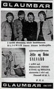 Glaumbær [auglýsing 1964]
