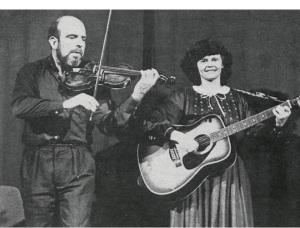 Graham Smith og Bergþóra Árna
