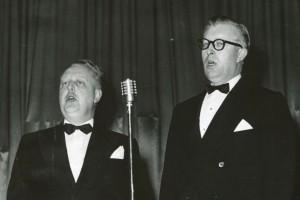 Jakob Hafstein og Ágúst Bjarnason