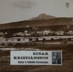 Einar Kristjánsson - leikur á tvöfalda harmonikku