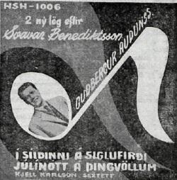 Guðbergur Auðunsson - Í síldinni á Siglufirði ofl.