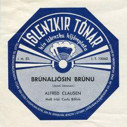 Alfreð Clausen - Brúnaljósin brúnu