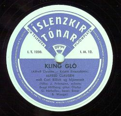 Alfreð Clausen - Gling gló