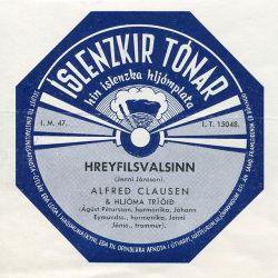 Alfreð Clausen - Hreyfilsvalsinn