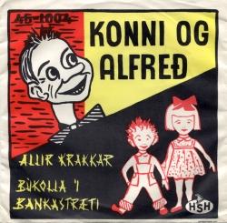 Alfreð og Konni - Búkolla í Bankastræti