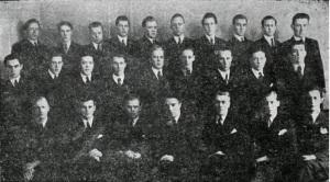 Karlakór Iðnskólans 1943
