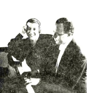 Engel Lund og Ferdinand Rauter1