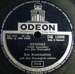 Erla Þorsteins - Heimþrá ofl.