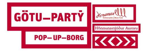 Pop-up Hönnunarmars 2015 logo