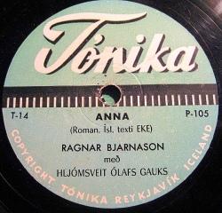 Ragnar Bjarnason - Anna í Hlíð1