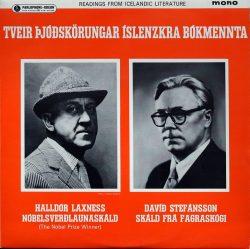 Halldór Laxness og Davíð Stefánsson - Tveir þjóðskörungar