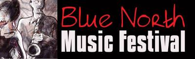 Blue north music festival logo