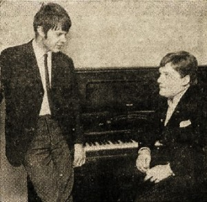 Rúnar Gunnarsson og Engilbert Jensen