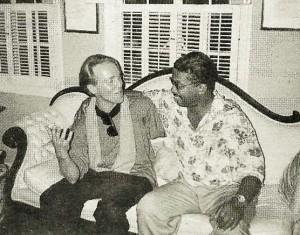 KArl J. Sighvatsson og Herbie Hancock