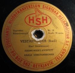 Kvintett Karls Jónatanssonar - 1954