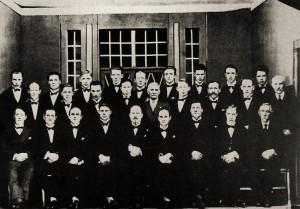 Karlakór AKureyrar 1930 - stofnfélagar
