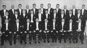 Karlakórinn Svanir 1953