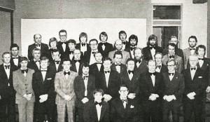 Karlakórinn Svanir 1976