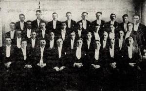 Karlakórinn Vísir 1934