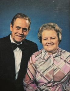 Jóhann Konráðsson og Fanney Oddgeirsdóttir