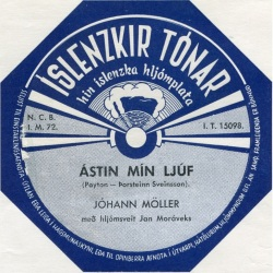 Jóhann Möller - ÁStin mín ljúf ofl.