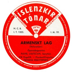 Pavel Lisitsian - Armenskt lag ofl.