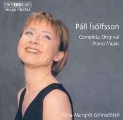 Nína Margrét Grímsdóttir - Páll Ísólfsson complete original piano music