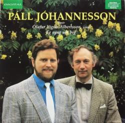 Páll Jóhannesson - Ég syng fyrir þig